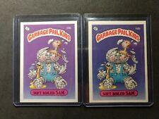 Garbage Pail Kids OS2 58b(2) Soft Boiled Sam. Blue and Purple!! Rare.