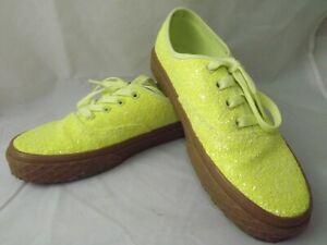 vans amarillo mujer
