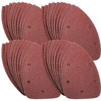 40 x 140mm MOUSE SANDER PADS SANDING SHEETS DISCS  4 x 60, 2 x 80, 120, 240 grit