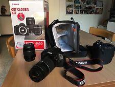 Macchina Fotografica Canon EOS 1200D-18-55/75-300
