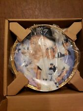 Mickey Mantle The Hamilton Collection NY Yankee Collector Plate #1667E