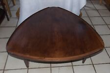Mid Century Walnut Guitar Pick Coffee Table from Denmark  (CT189)