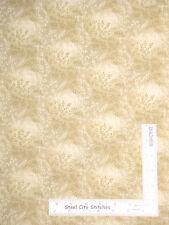 """Quilt Backing 108"""" Wide Vineyard Beige Cream-Beige Neutral Cotton Fabric YARD"""