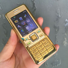 New Condition Factory Unlocked Nokia 6300 Gold Mobile Phone Cheap bar phones