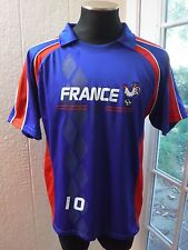 Produit Original *FRANCE* #10 Blue&Red Color Jersey Shirt *Men's XL*