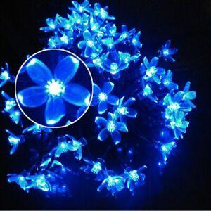 Solar LED String Lights Waterproof Outdoor Lantern Decoration Garland 100LED 12M