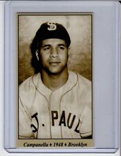 Roy Campanella '48 Brooklyn Dodgers / St Paul Saints Tobacco Road series #29