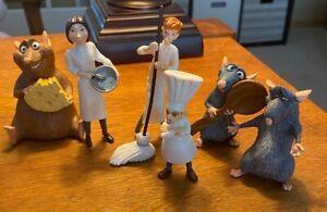 Disney Pixar Ratatouille Set of 6 figurines