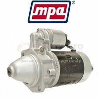 3131 Remanufactured MPA Starter Motor