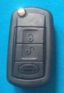LAND ROVER DISCOVERY 3 RANGE ROVER VOUGE FLIP REMOTE KEY FOB CASE