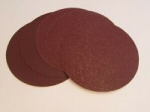 Quality 200mm Self Adhesive / Sticky Backed Aluminium oxide Sanding Discs.