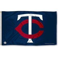 MINNESOTA TWINS FLAG 3'X5' MLB TC LOGO BANNER: FAST FREE SHIPPING