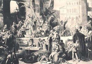 First Crusade GODFREY OF BOUILLON enters JERUSALEM ~ 1895 Art Print Photogravure