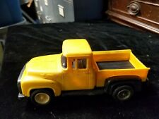 Vintage 1956 STROMBECKER 1956 Yellow Ford Plastic Pick-Up Truck 6-1/2""