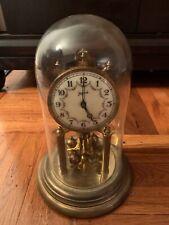 JOHN WANAMAKER 400 Day Anniversary Dome Clock Movement Parts or Repair Vintage
