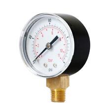 Air Pressure Gauge for Oil Gas Water TS-Y504 0-160psi 0-11bar 1/4BSPT Thread