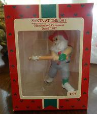 1987 Hallmark Keepsake Christmas Ornament Santa at the Bat