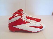 Nike Vapor Talon Elite MID Football Cleats Hyperfuse 14.5 Red/White 603743 160