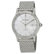 Emporio Armani Classic Silver Dial Automatic Mens Watch ARS3006
