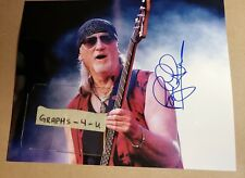 Roger Glover Signed Deep Purple Autograph COA Proof y