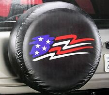 AMERICAN glory USA flag suv truck trailer wheel camper RV rear spare tire cover