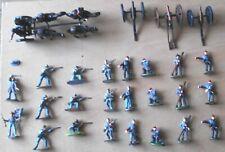 1 72 IMEX Set 502 Confederate Artillery Set  komplettiert und bemalt