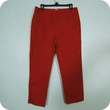CHICO'S Woman's Red Ankle Pants, Casual Stretch, Four Pockets size 1.5