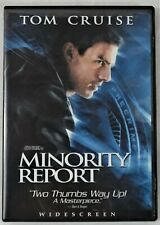 Minority Report with Tom Cruise Dvd, 2002