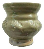 1992 Diane Rosenmiller VT Artist Ceramic Pottery Small Vase/Jar/Planter, Signed