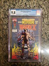 Marvel Comics Presents #72 CGC 9.8 - Weapon X begins | Wolverine 1st adamantium