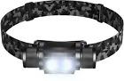 SLONIK 500 Lumen Rechargeable LED Headlamp w/ 2200 mAh Battery - Durable, Waterp