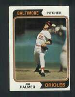 1974 Topps #40 Jim Palmer EXMT/EXMT+ Orioles 123483
