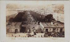 Carlo Ponti Naples Villa Reale Italie Cdv Photo Vintage Albumine c1860-5