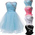 Sweetheart Short Bead Bridesmaid Party Costume ball Formal Prom Graduation Dress