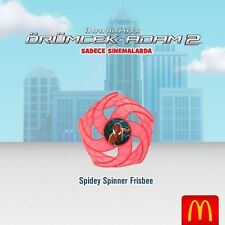 Spidey Spinner Frisbee Spiderman Happy meal Mc Donald's 2014