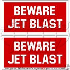 BEWARE JET BLAST Aircraft Helicopter RAF Sticker, Decal
