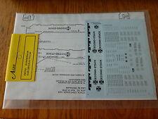 A-Line HO #27701 Gunderson Car Decals TTX/SF
