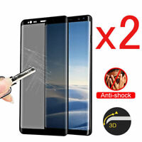 For Samsung Galaxy S8/S9Plus Privacy Anti-Spy Temper Glass Screen Protector Lot