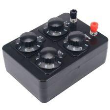 0 9999 Ohm Simple Resistance Box Precision Variable Decade Resistor Teachingh8g5
