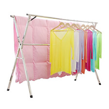 Clothes Drying Rack for Laundry Free Installed Space Saving Folding Hanger Rack