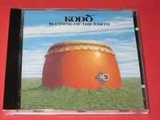 Kodo / Blessing of the Earth (Europe, CBS-466630-2) - CD