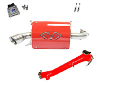 Evolution Powersports Evo Stage 4R ECU Flash Red Magnum Exhaust RZR XP TURBO