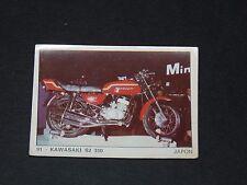 #91 KAWASAKI S2 350 JAPON NIPPON JAPAN MOTO 2000 PANINI EDITIONS DE LA TOUR 1973