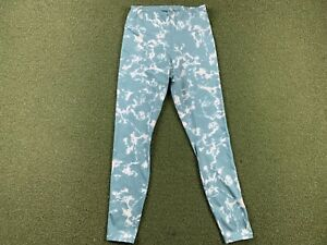 PUMA Golf Women's Print Leggings Pants Blue Spruce SZ Small ( 599264 04 )