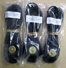 3x COMTELCO TKA25'-00 Trunk Mount Antenna Cable 25' RG58A/U COAX w/o connector