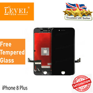 Black For iPhone 8 Plus Screen Replacement LCD Display Retina 3D Touch Digitizer
