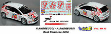 Fiat Punto S2000 -  ANDREUCCI  -  Rally BARBORKA  2006