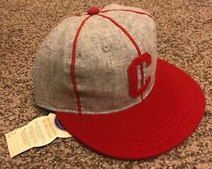 1942 CLOVIS PIONEERS Ebbets Field BALLCAP HAT 7 1/4 New Mexico Minor League NWT