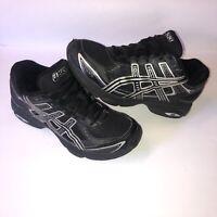 Asics Gel Express Black Silver Running Cross Training Shoes S018N Size 8.5