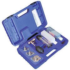 Test Fluid + Combustion Leak Detector Cooling System CO2 Gasket Gas Car Tool Kit